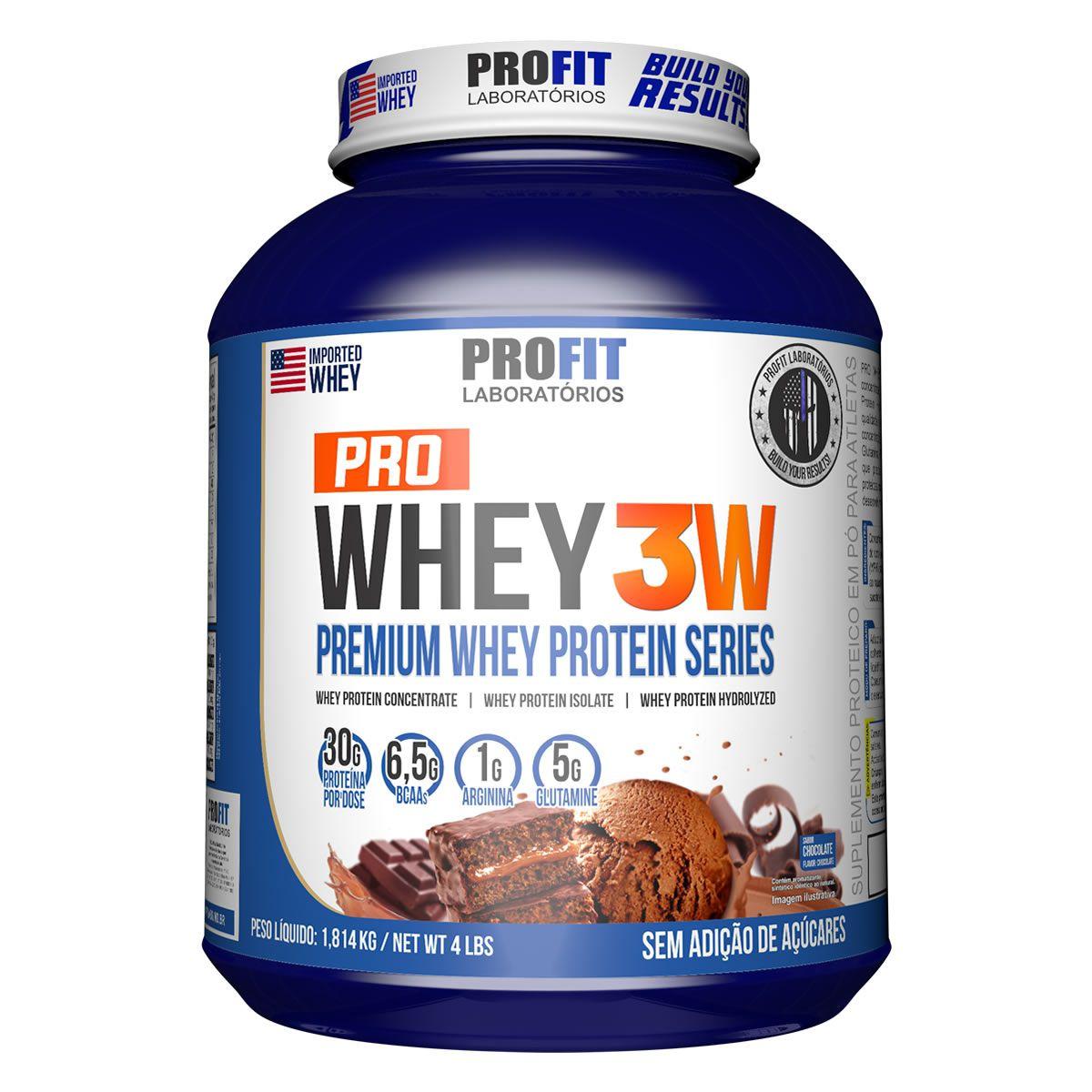 Pro Whey 3W 1.8kg - Profit