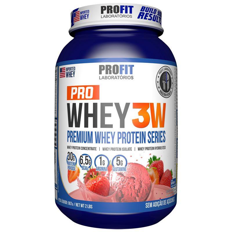 Pro Whey 3W 900g - Profit