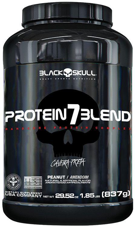 Protein 7 Blend 837 g - Black Skull