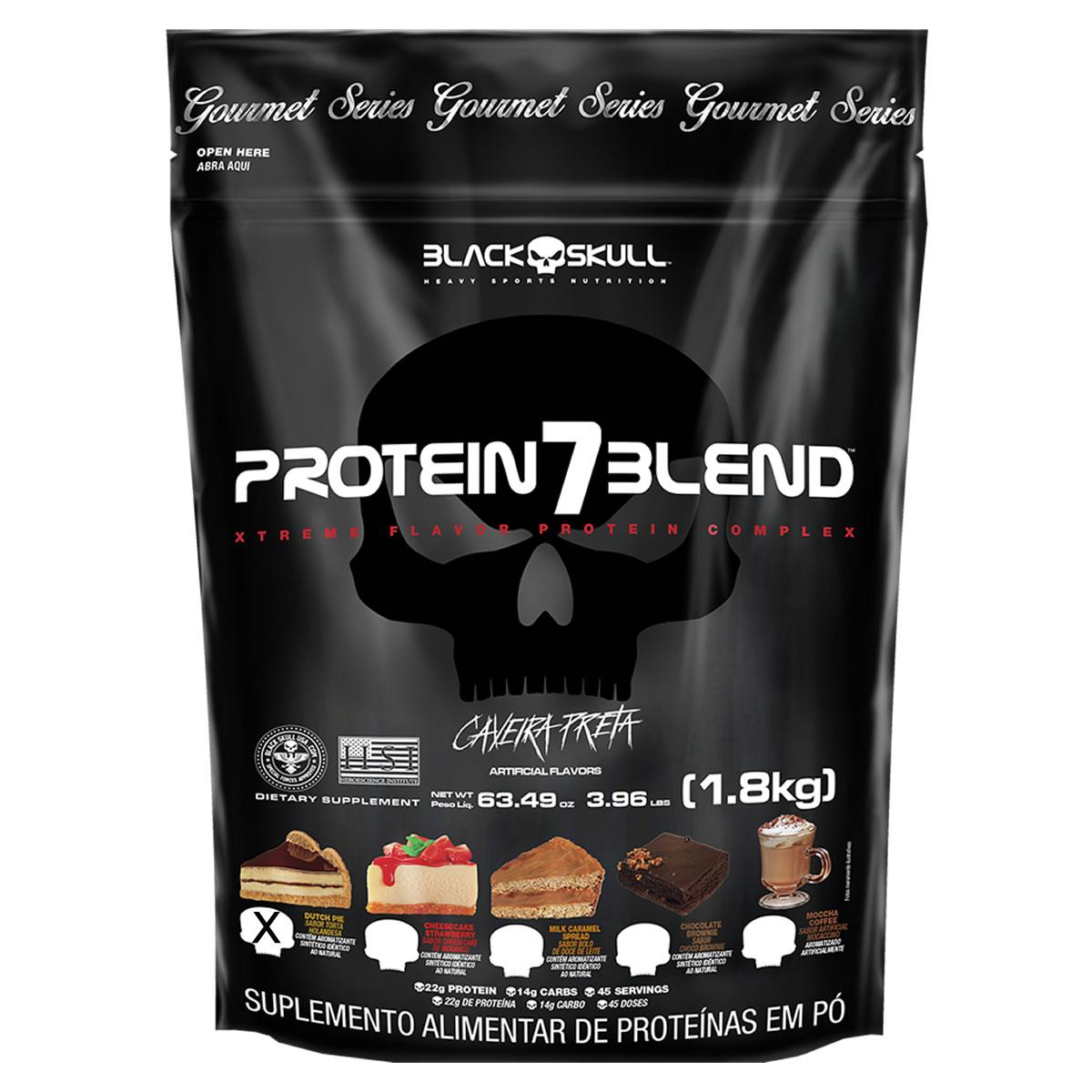 Protein 7 Blend Gourmet 1,8Kg - Black Skull