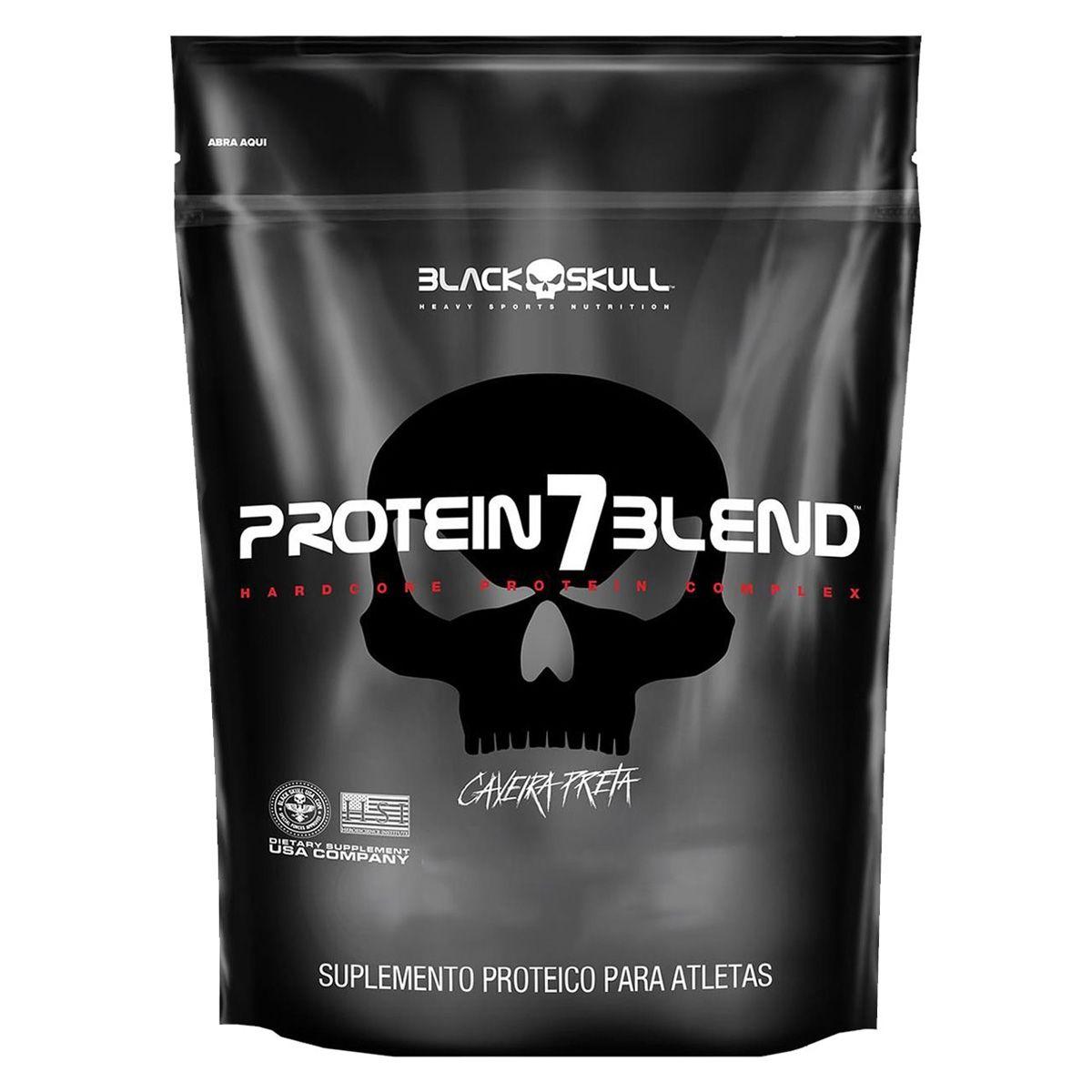 Protein 7 Blend Refil - 1800g - Black Skull