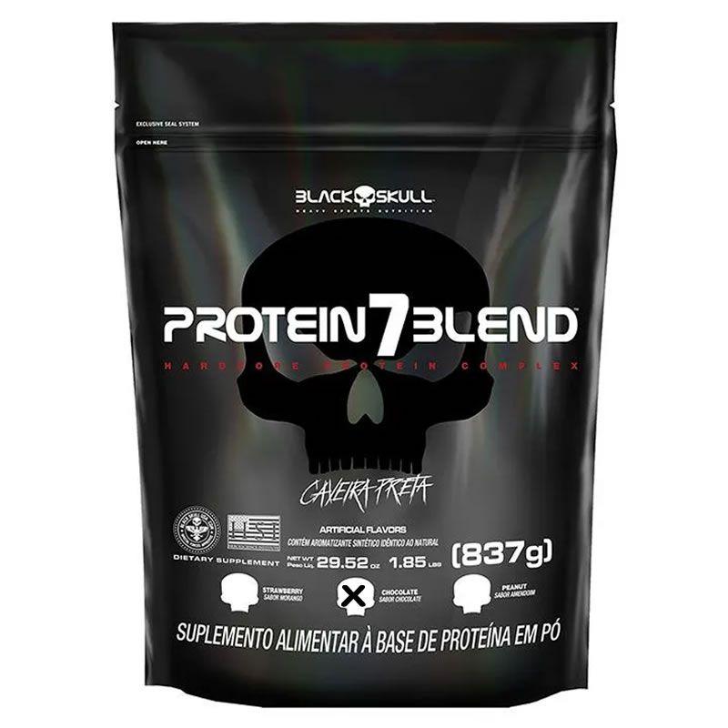 Protein 7 Blend Refil 837g - Black Skull