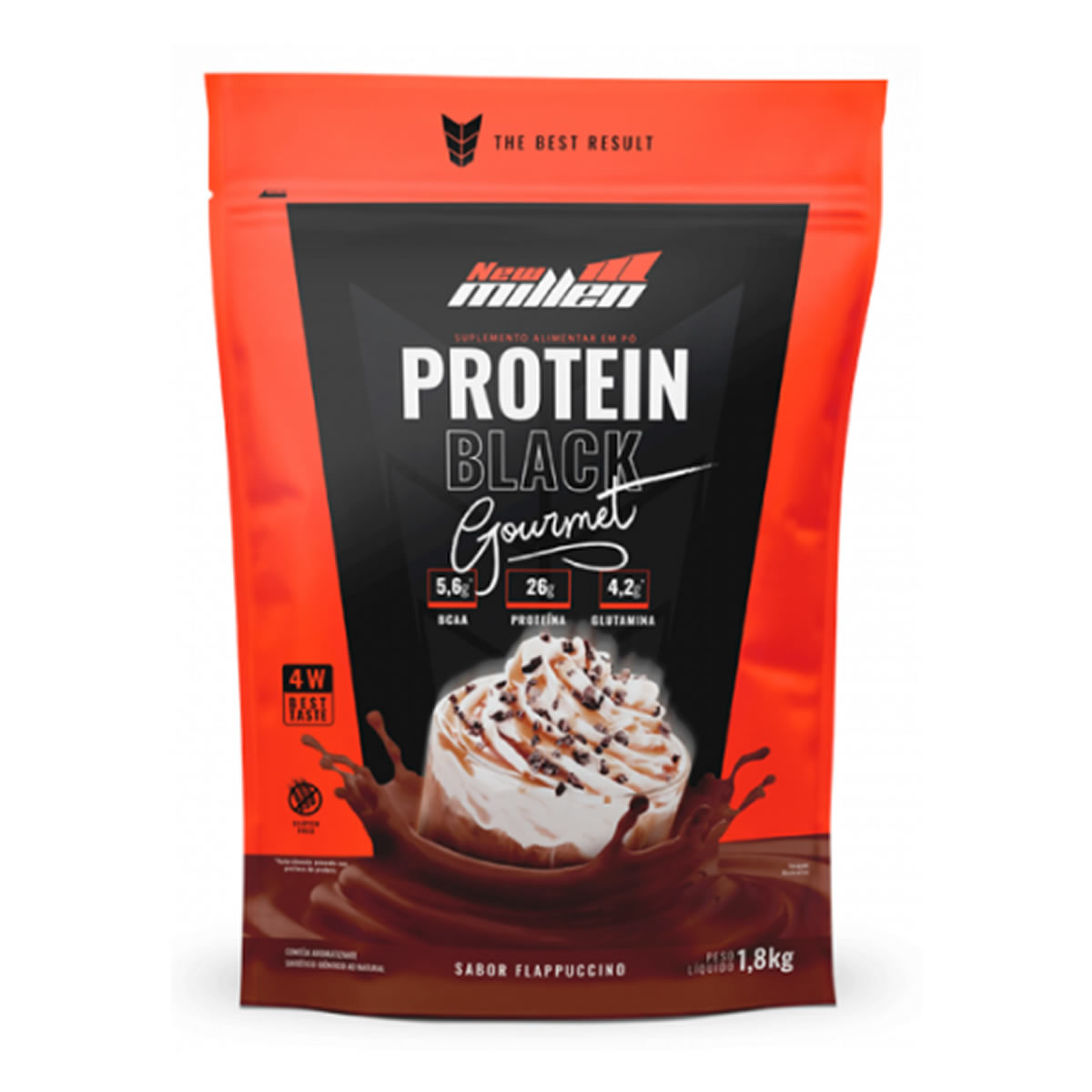 Protein Black Gourmet 1,8kg - New Millen