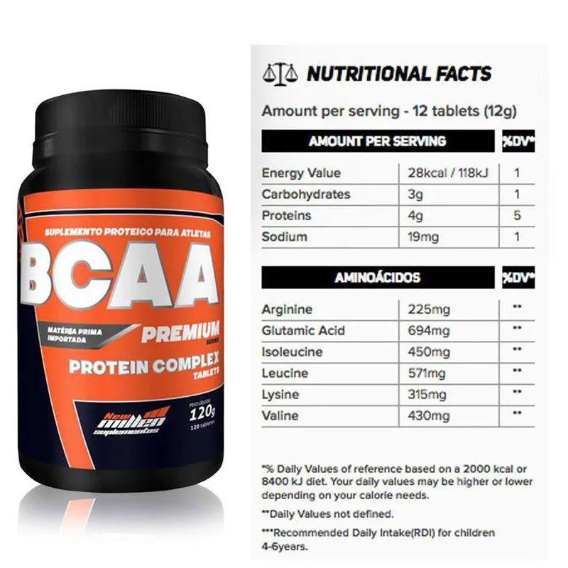 Protein Complex 1,8kg + Bcaa + Creatina + Copo - New Millen