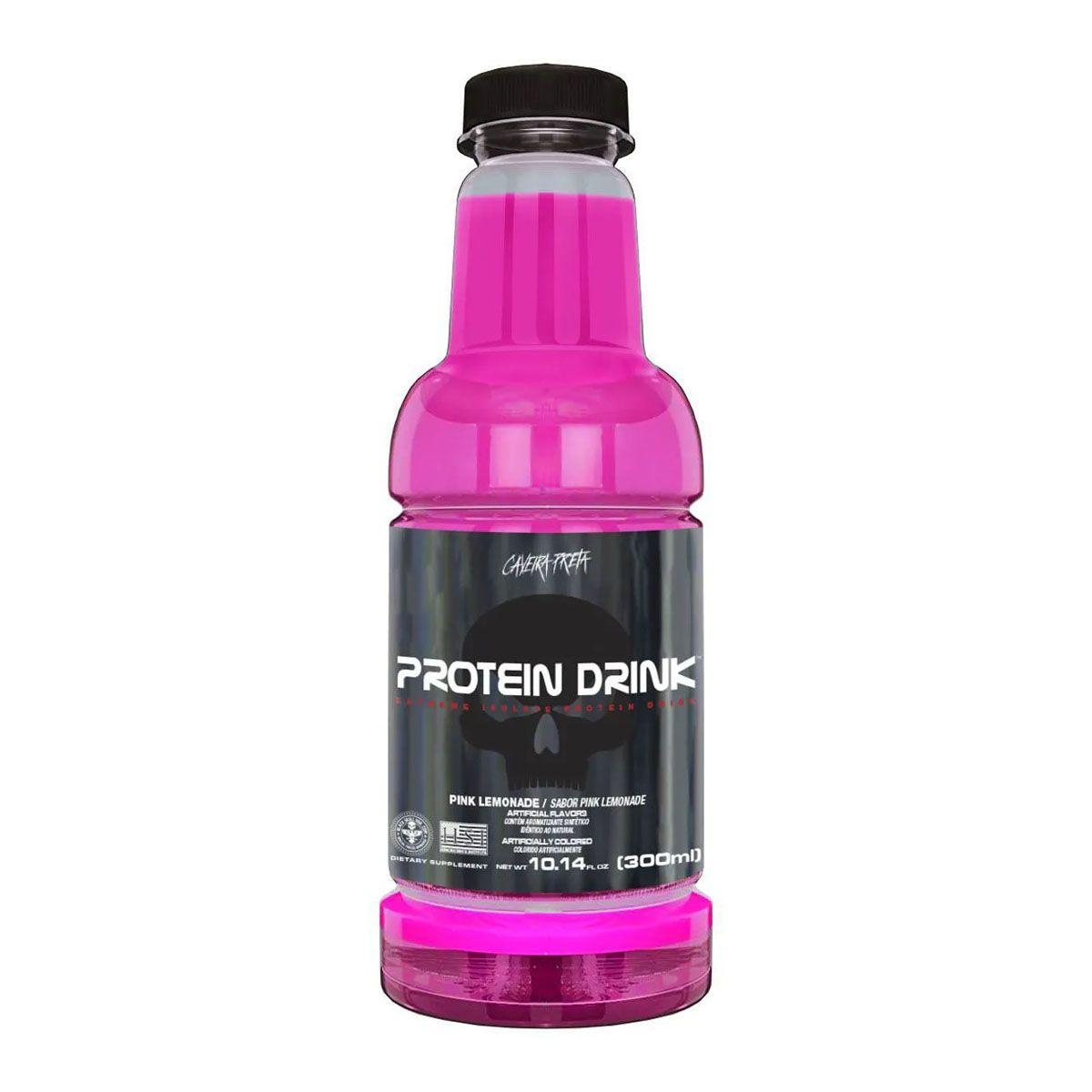 Protein Drink 300ml - Black Skull