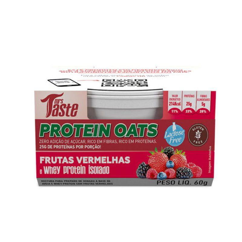 Protein Oats 60g - Mrs Taste