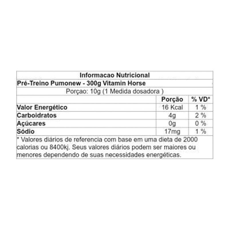 Pumonew - 300g - Vitamin Horse