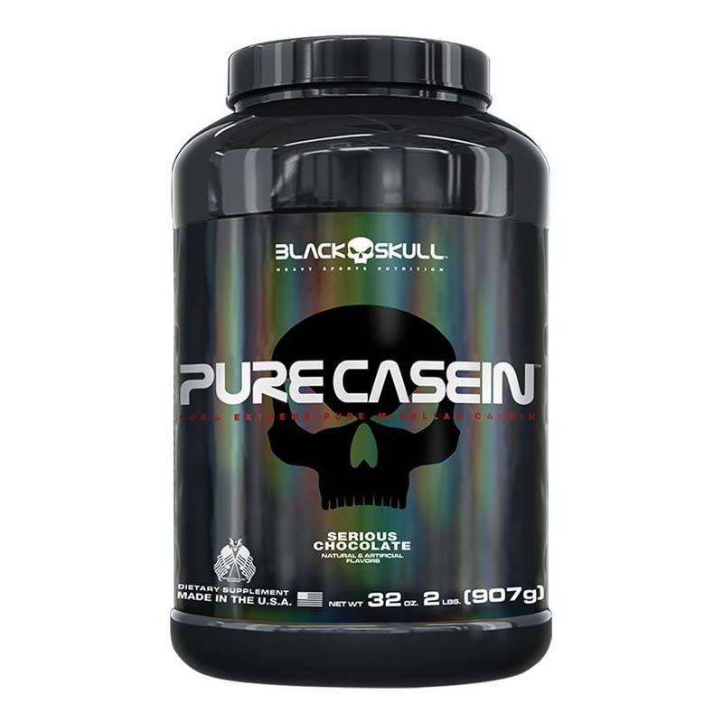 Pure Casein 900g - Black Skull