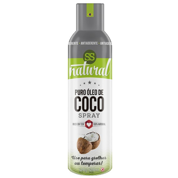 Puro Óleo de Coco Spray 128 ml - SS Natural