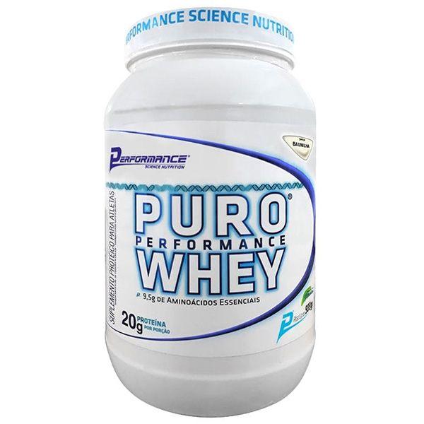 Puro Whey 900g - Performance Nutrition