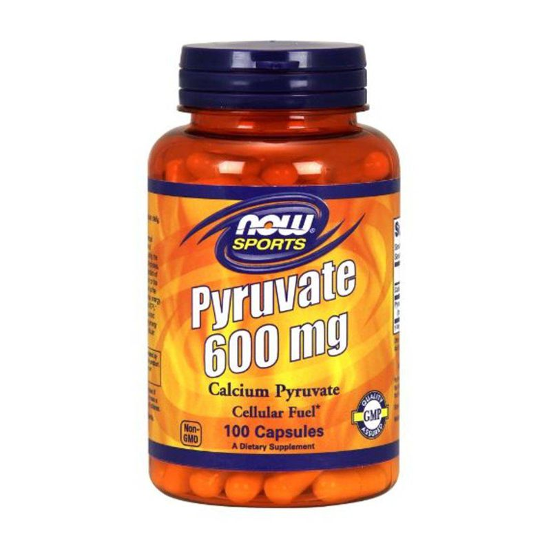Pyruvate 600mg - 100 Cápsulas - Now