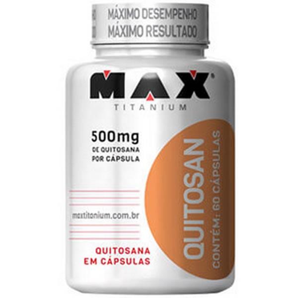 Quitosan 60 cápsulas - Max Titanium