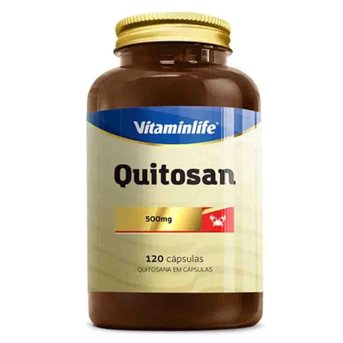 Quitosana 120 Cápsulas - Vitamin Life