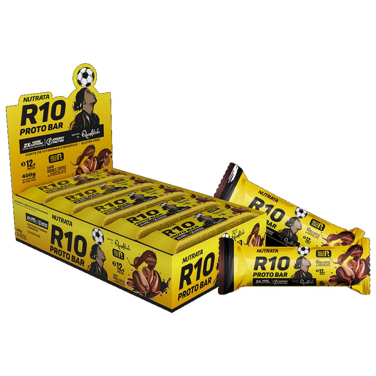 R10 ProtoBar 10 Unidades - Nutrata