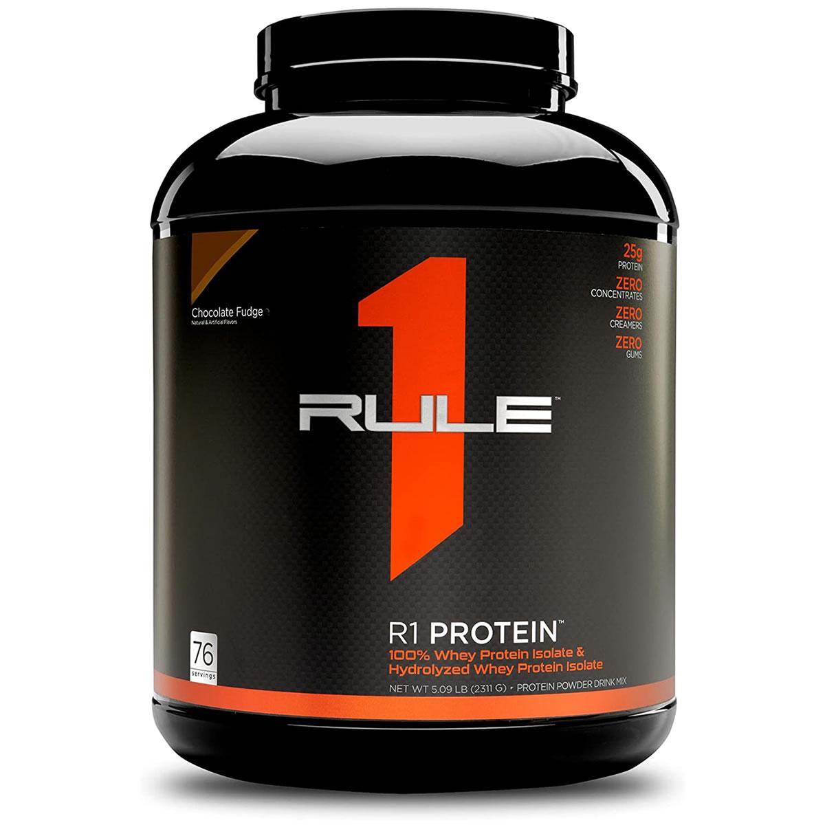 R1 Protein 100% Whey Protein Isolado e Hidrolisado 2,2Kg - Rule One