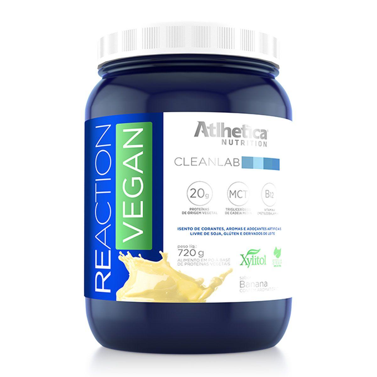 Reaction Vegan 720g - Atlhetica Nutrition
