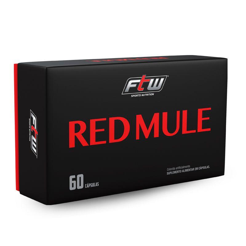 Red Mule - 60 Cápsulas - FTW