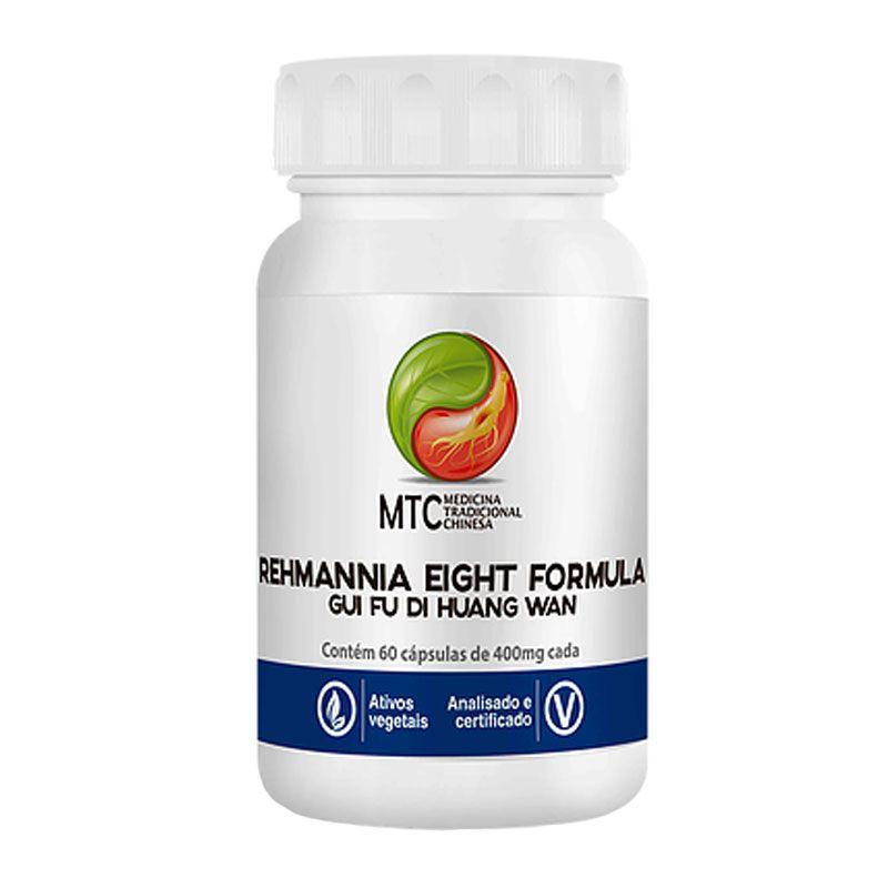 Rehmannia Eight Formula - Gui Fu Di Huang Wan (60 cápsulas) -  Vitafor