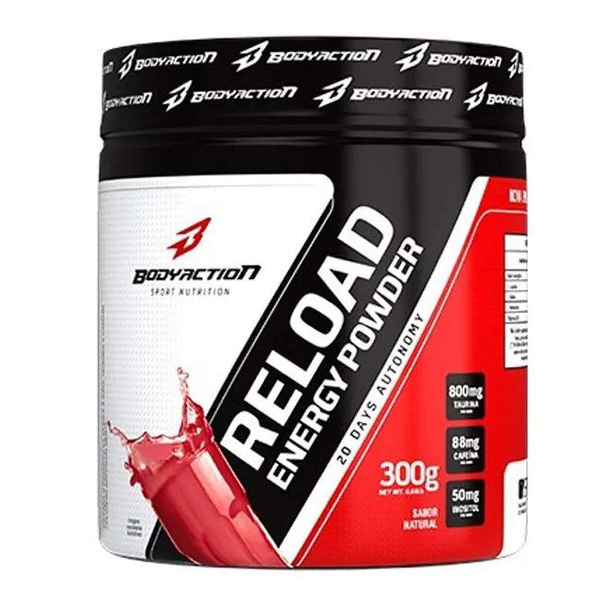 Reload Energy Powder 300g - Body Action