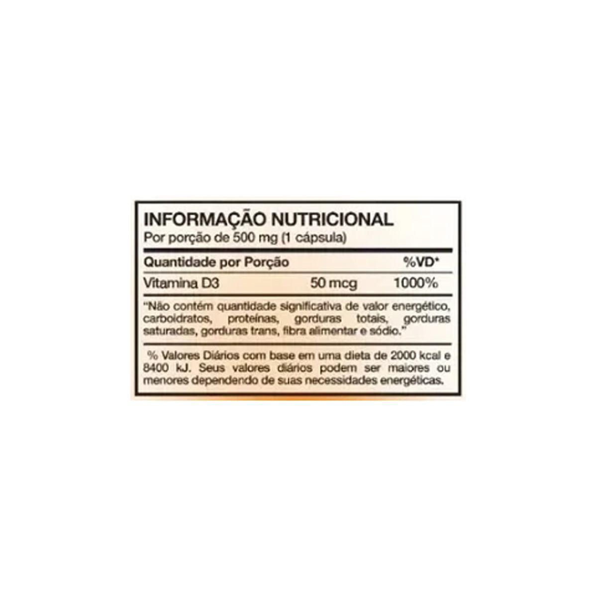 Revigoran D3 2000UI 50mcg 60 cápsulas - Nutrends