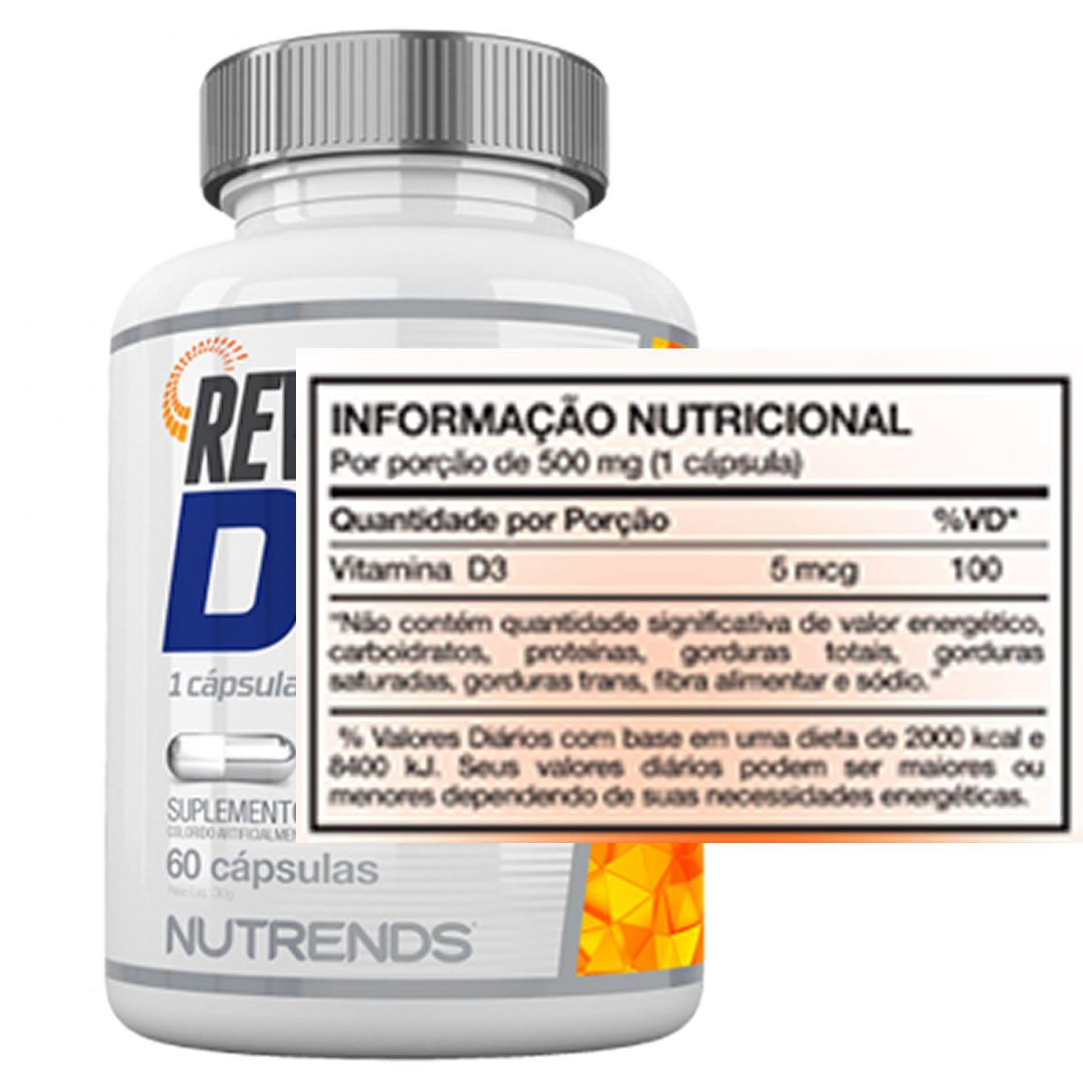 Revigoran D3 60 Cápsulas - Nutrends
