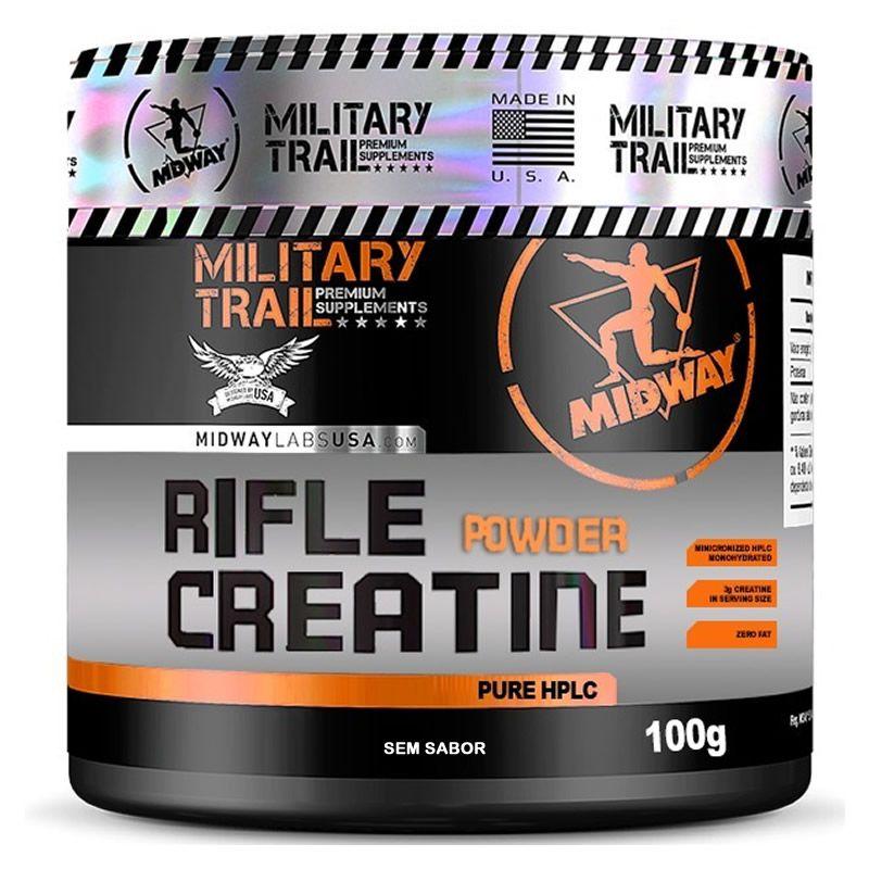 Rifle Creatine Powder 100g - Midway