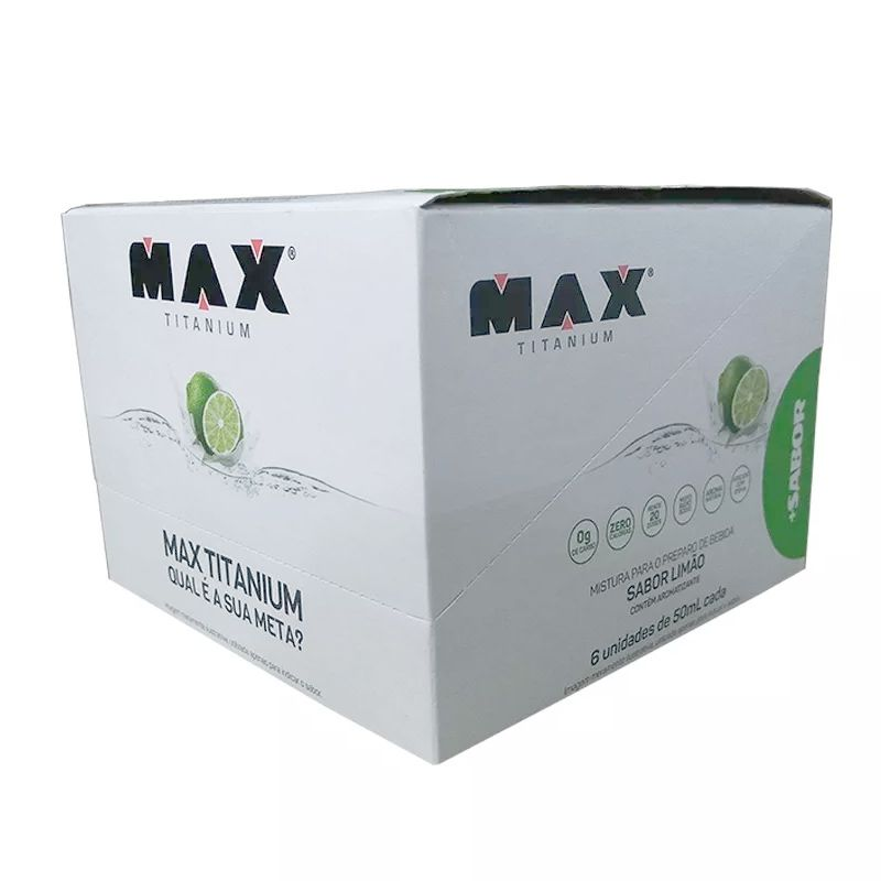 +Sabor - 6 Unidades - Max Titanium