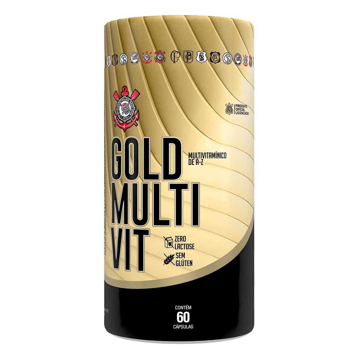 SCCP Gold Multi-Vit 60 Cápsulas - Forster Nutrition