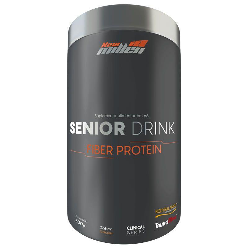 Senior Drink Fiber Protein 600g - New Millen
