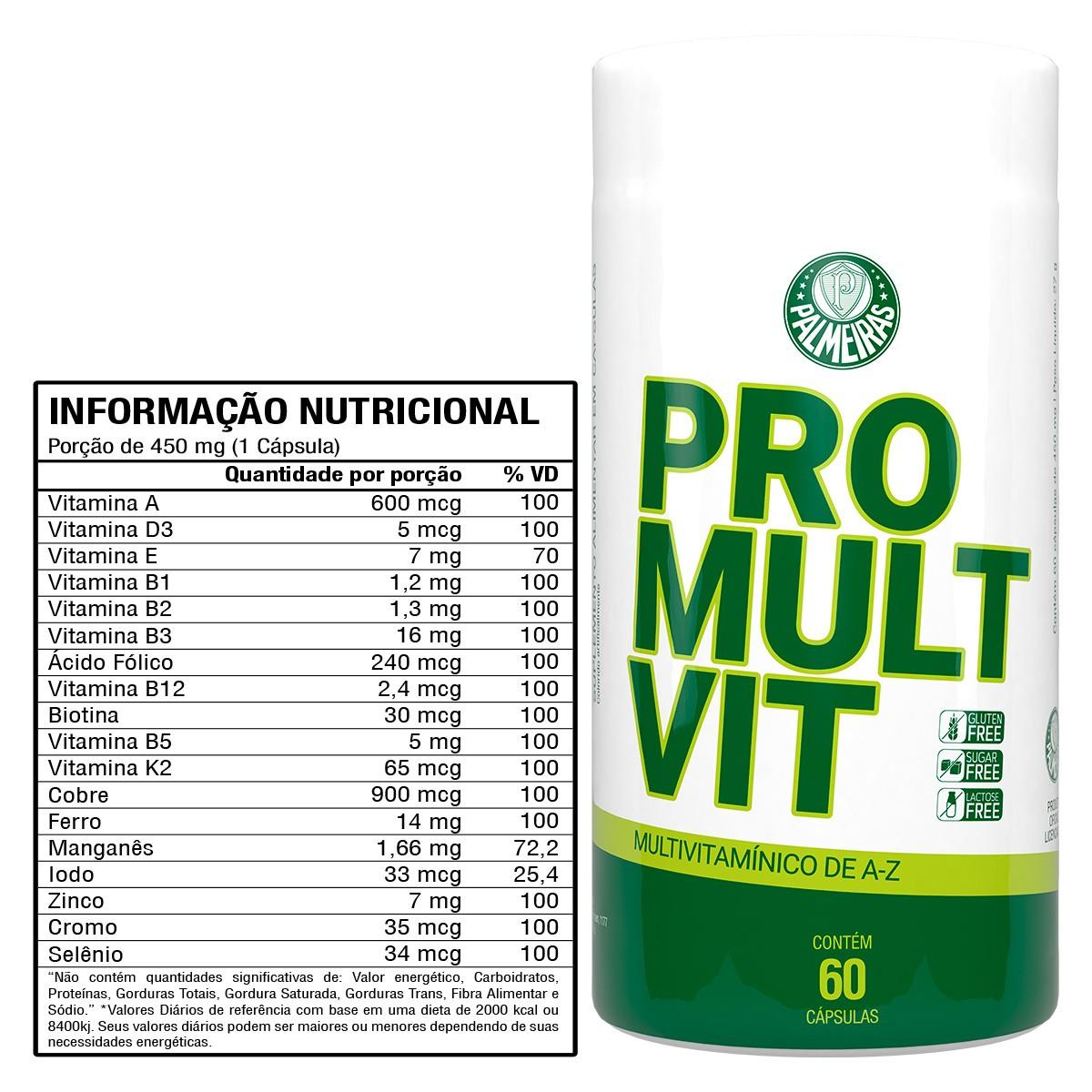 SEP Pro Mult Vit 60 Cápsulas - Forster Nutrition