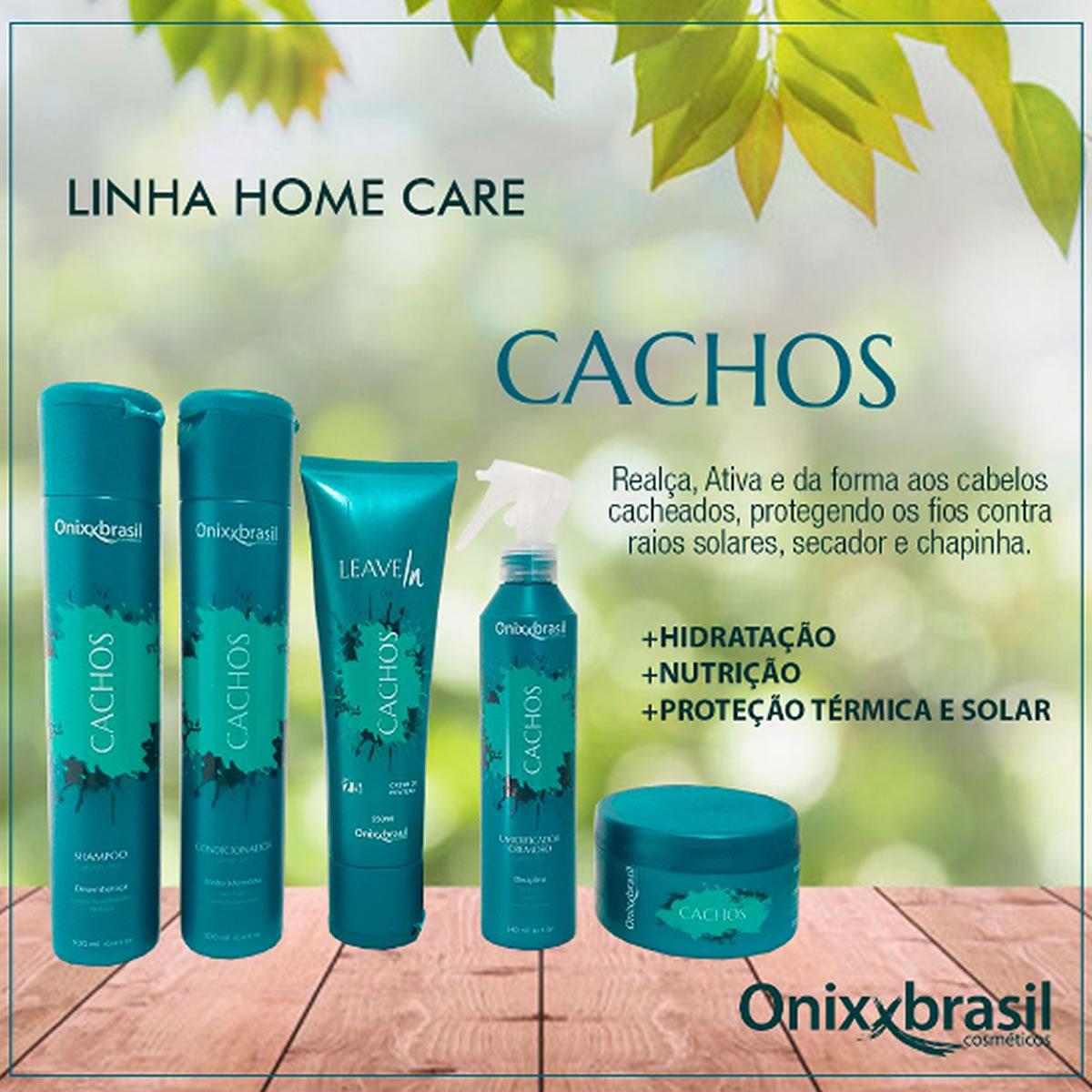 Shampoo Cachos 300ml - Onixxbrasil