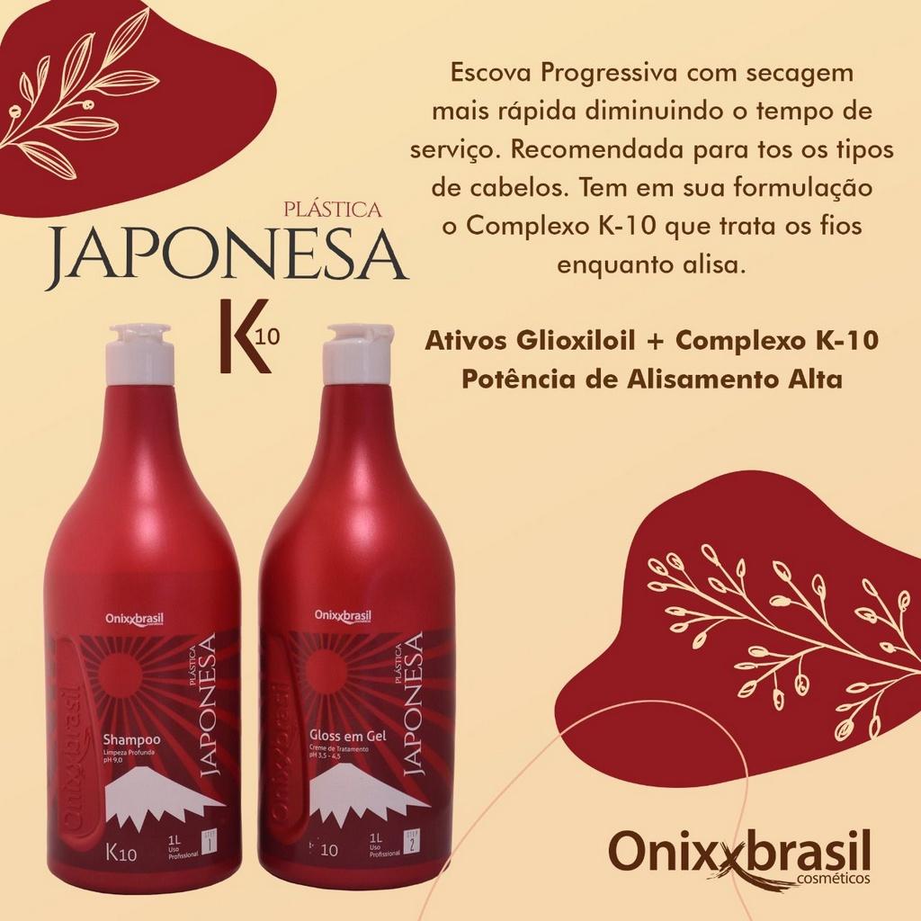 Shampoo Plástica Japonesa K10 Ph9 1L