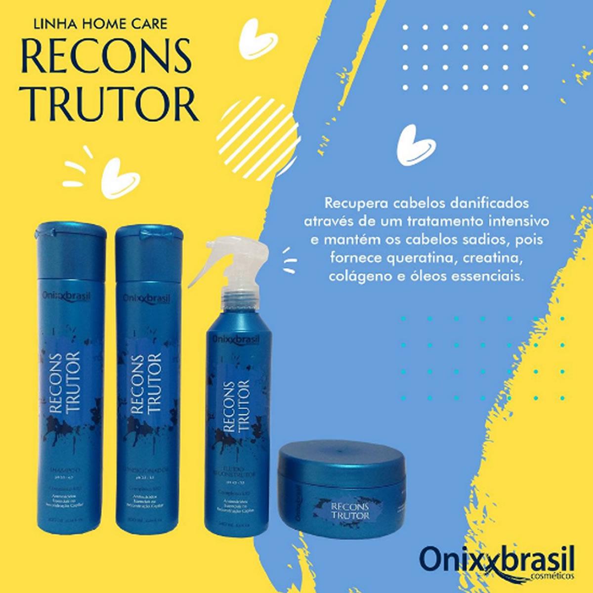 Shampoo Reconstrutor 300ml - Onixx Brasil