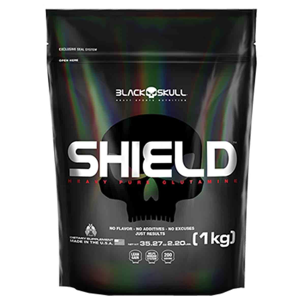 Shield 1kg - Black Skull