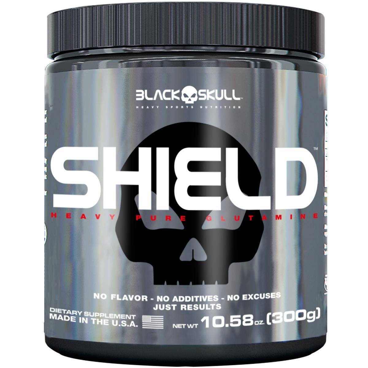 Shield 300 g - Black Skull