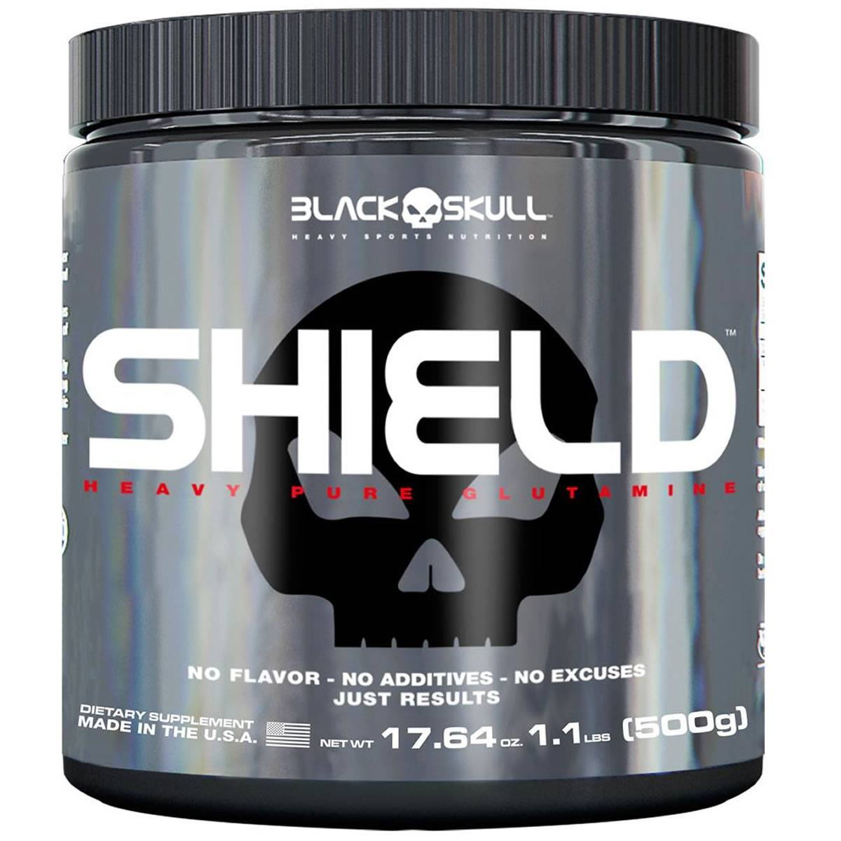 Shield 500 g - Black Skull