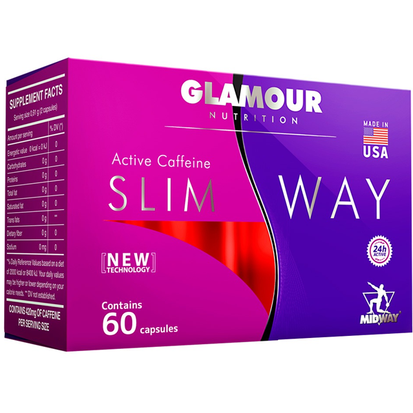 Slim Way 60 cápsulas - Midwayy