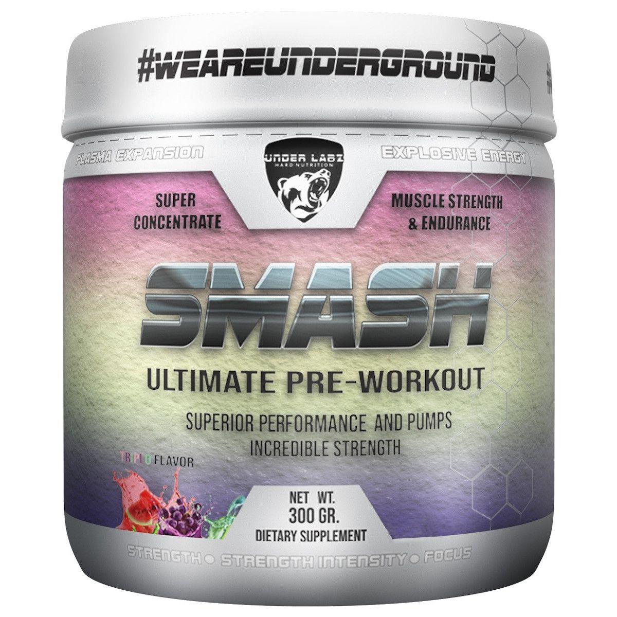 Smash Pré Workout - 300g - Under Labz