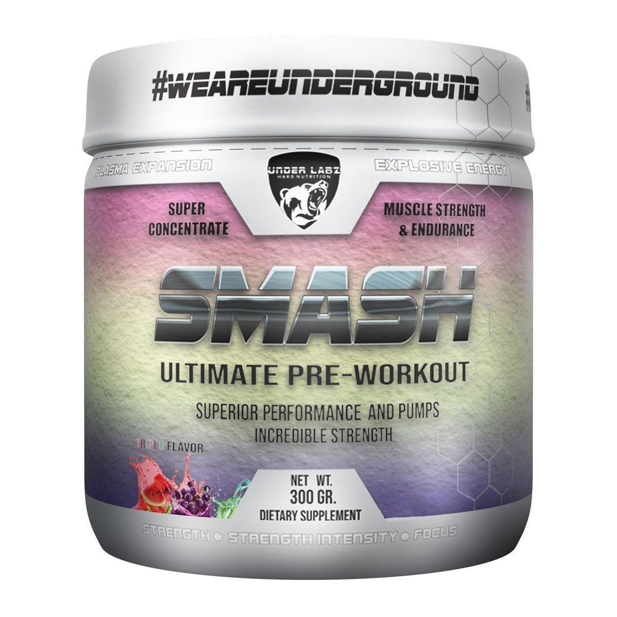 Smash Pré Workout 300g - Under Labz