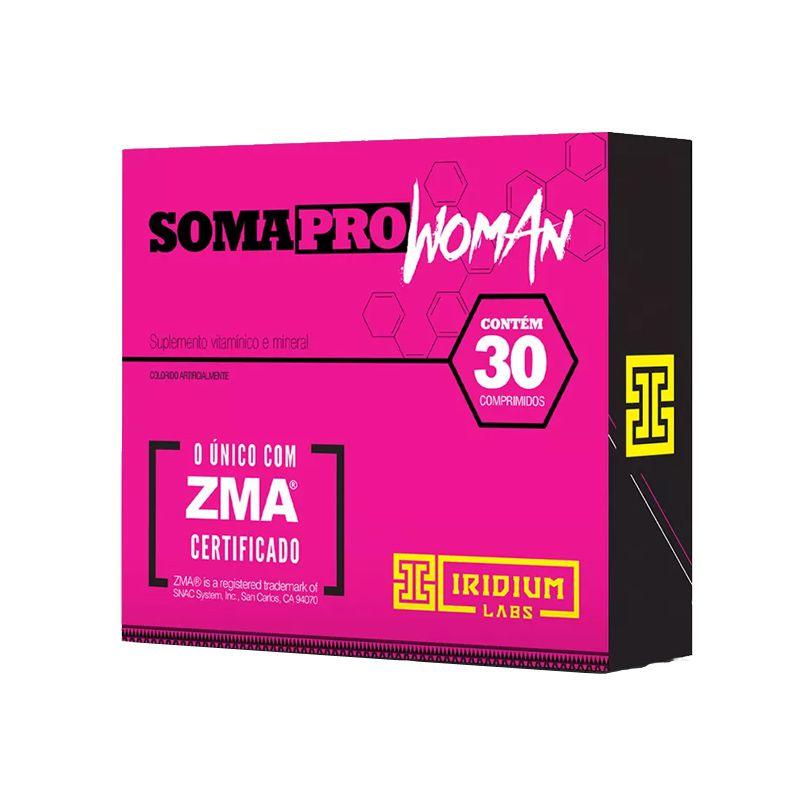 Soma Pro Woman - 30 Cápsulas - Iridium Labs