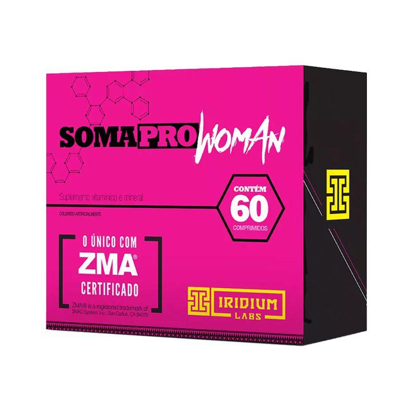 Soma Pro Woman - 60 Cápsulas - Iridium Labs