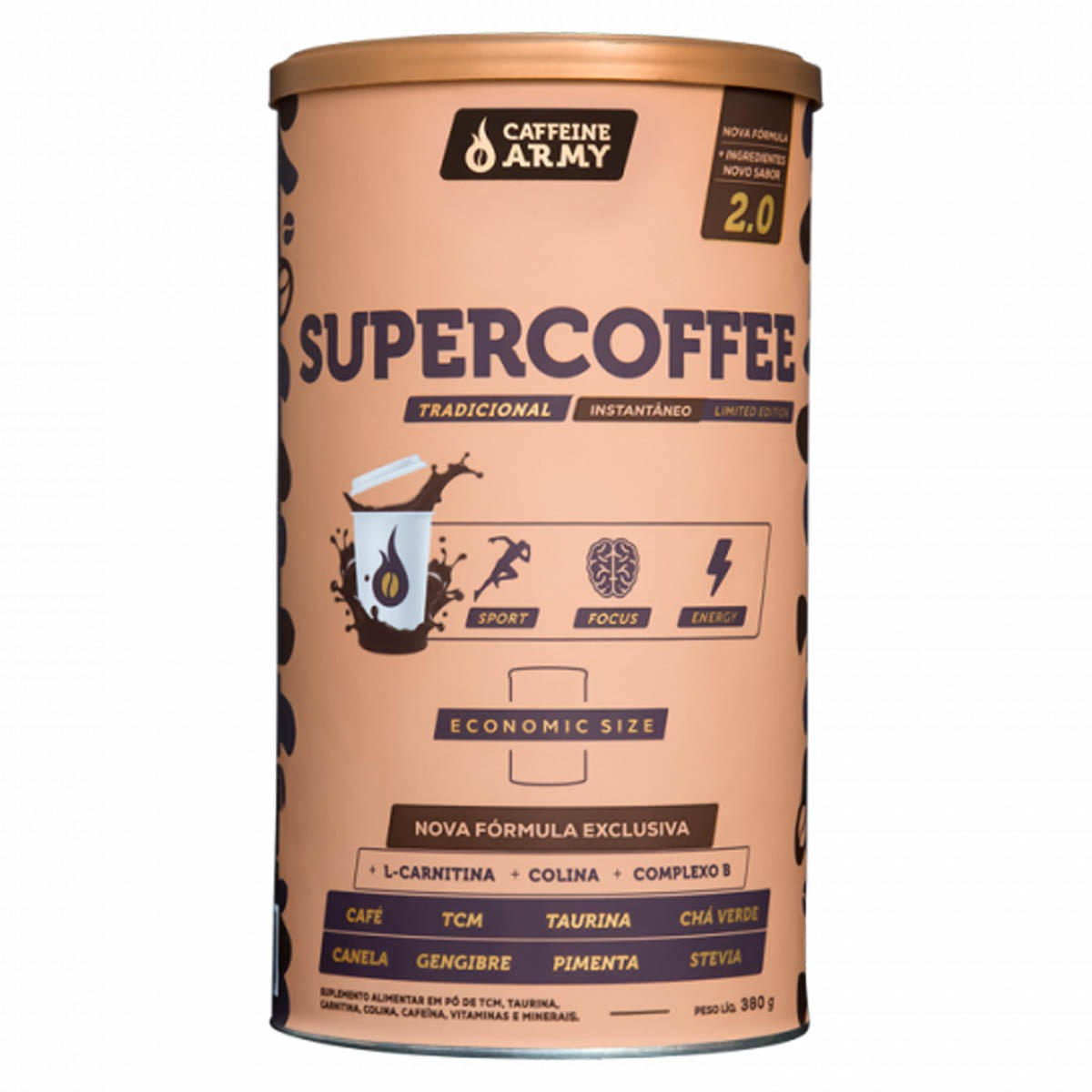Super Coffee 380g - Caffeine Army