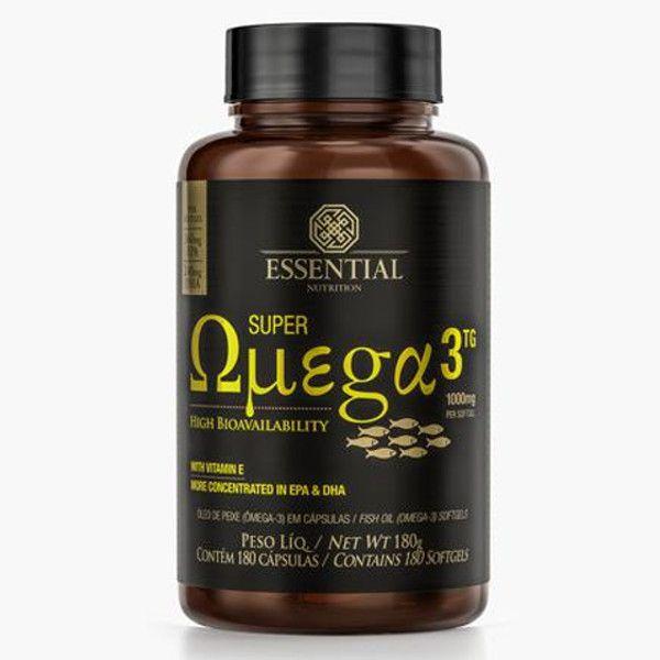 Super Ômega 3 1.000mg - 180 Cápsulas - Essential Nutrition