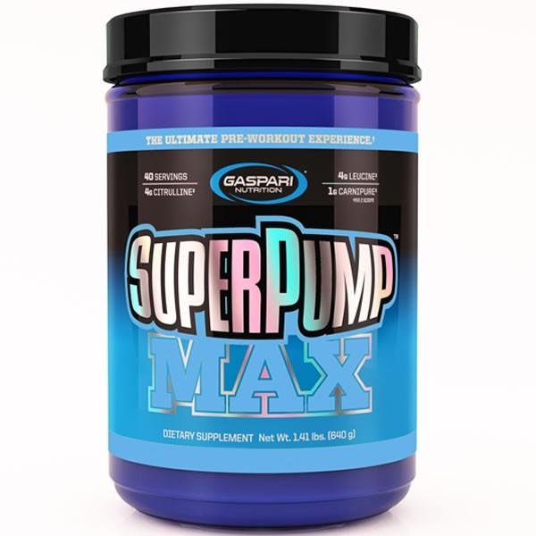 Super Pump Max 640 g - Gaspari