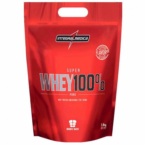 Super Whey 100% 1,8 Kg - Integral Médica