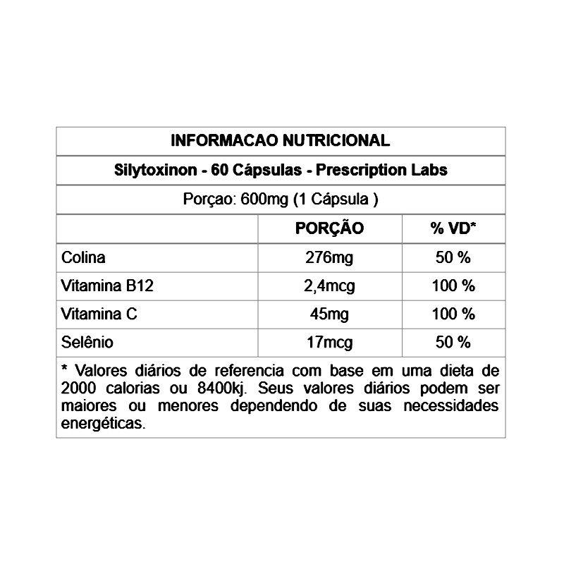 Sylitoxinon - 60 Cápsulas - PRESCRIPTION LABS