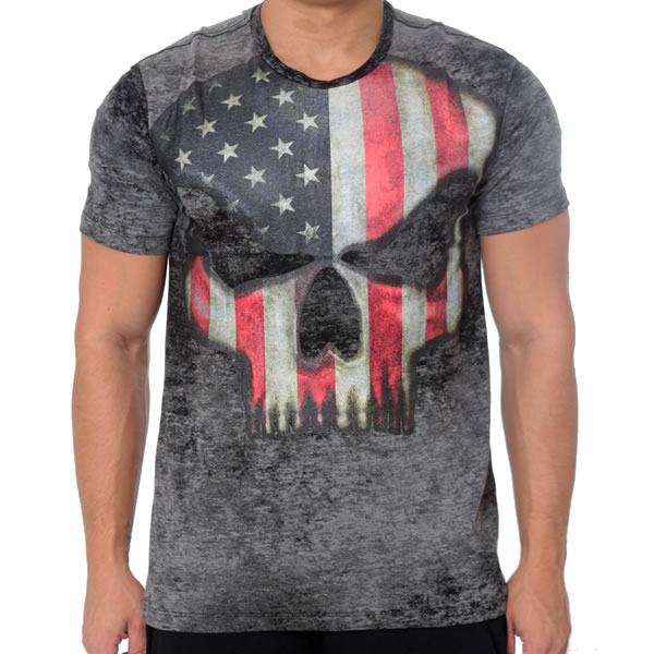 T-Shirt Branch Warren – Black Skull