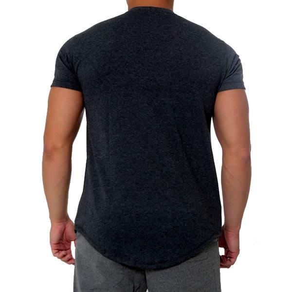T-Shirt Serious Tranning - Preto - Black Skull