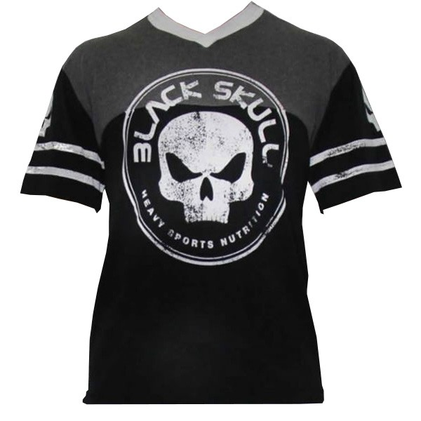 T-Shirt Shield - Preto - Black Skull