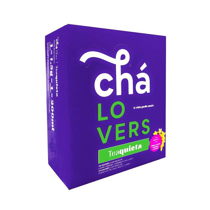 Teaquieta - 60 Sachês - Chá Lovers